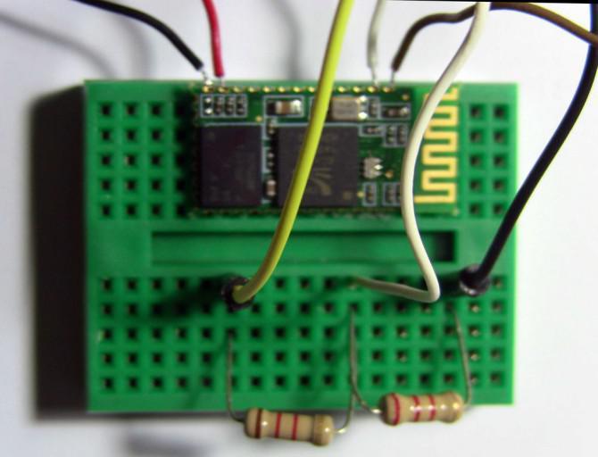 Günstige 2-Wege-Bluetooth-Verbindung zwischen PC und Arduino