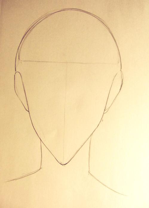Wie man einen Manga Boy (Gesicht) Zeichnen