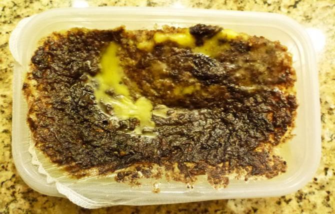 Rendering reinem Bienenwachs