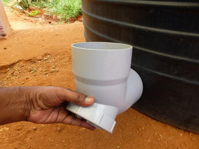 Biogasanlage Mit Küchen- und Speiseabfälle
