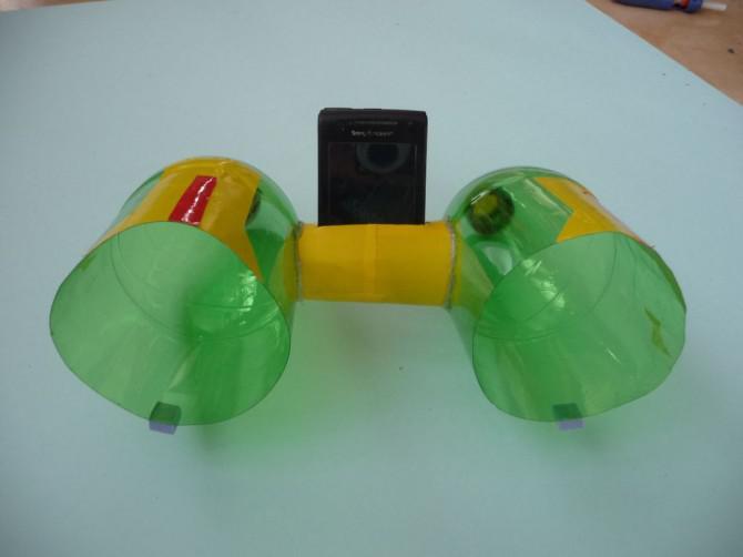 Einfache Handy Sound-Verstärker