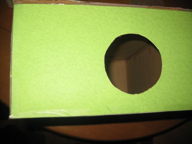 Wie man einen Shoebox iPhone / iPod-Projektor (mit Test-VIDEO)