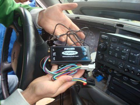 Hinzufügen eines direkten Line-In an das Autoradio für einen iPod / MP3-Player