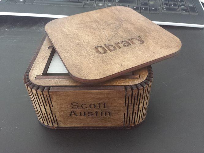 Visitenkarten Box