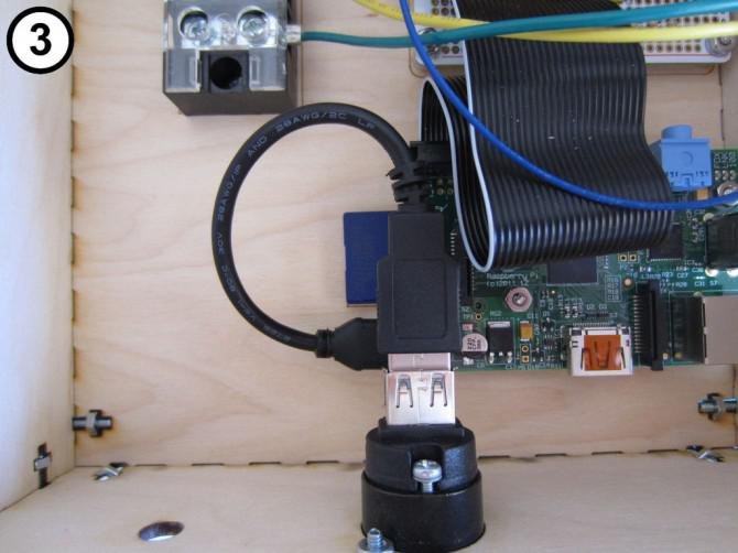 Raspberry Pi Internet Monitor