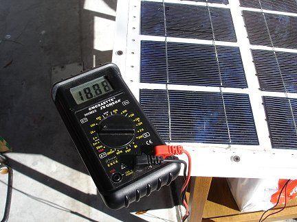 Erstellen Sie Eine 60 Watt Solar Panel