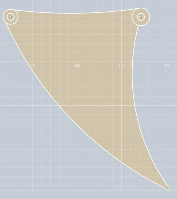 Meine 123D Jansen Strandbeest Mechanism