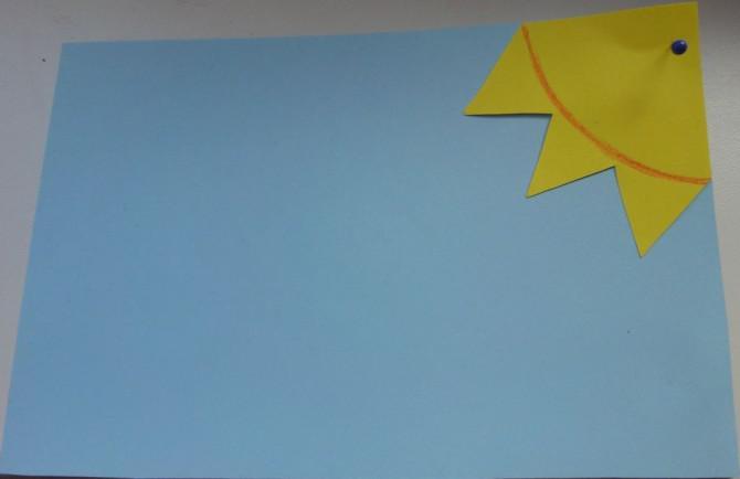 Solarbetriebene Postkarte