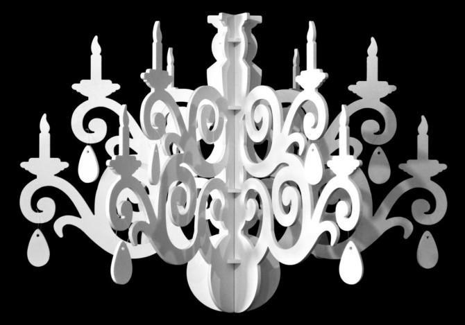Kronleuchter Dekoration ~ Geweih kronleuchter reiner adel zu hause archzine