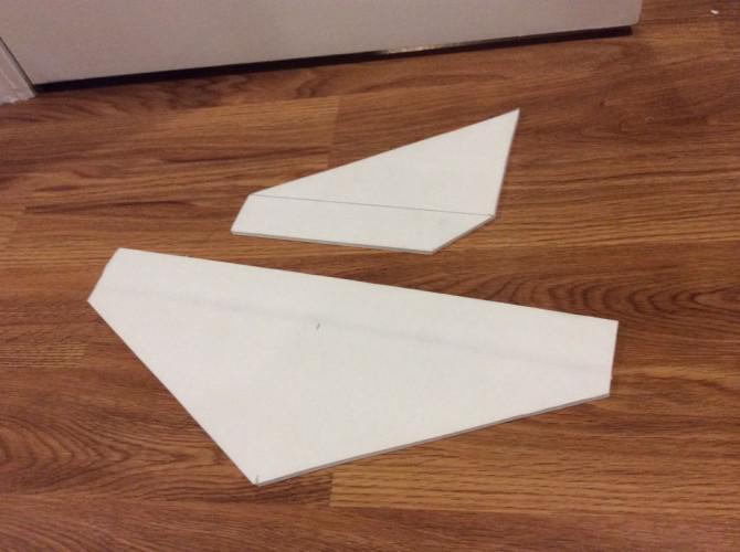 Foamboard RC Glider