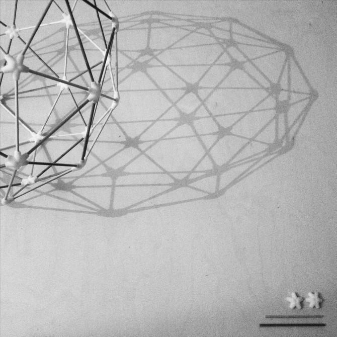 Geodätische Kuppel: Erstellen Sie eine Lampe oder ein Raumschiff