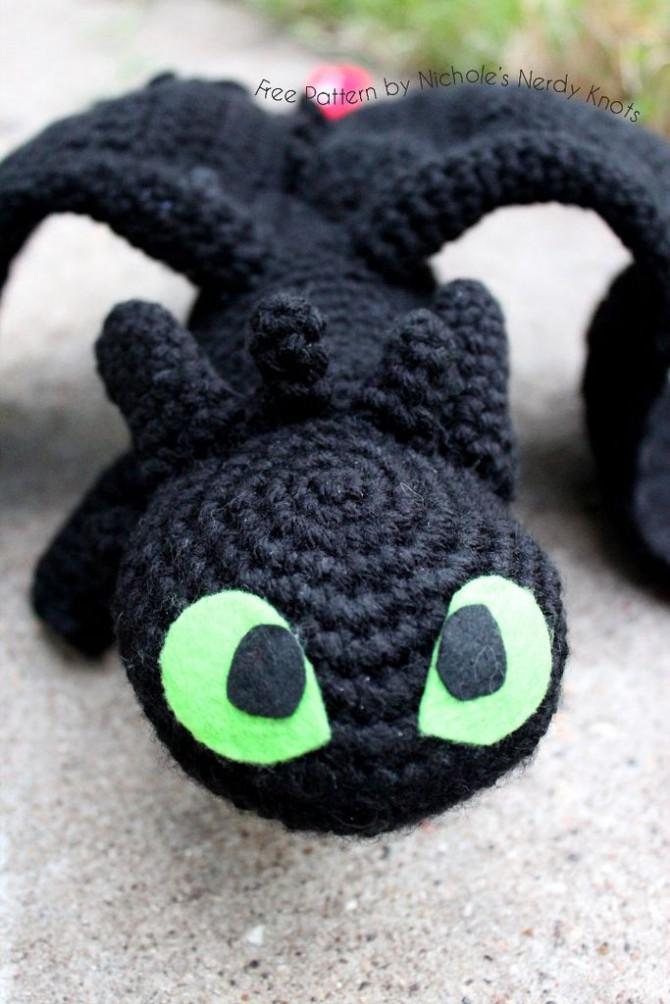 Crochet Toothless Progress 2 by silvergirl919 on DeviantArt | 1004x670
