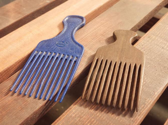 Laubholz-Haarkämme auf der Dekupiersäge - Made in Techshop