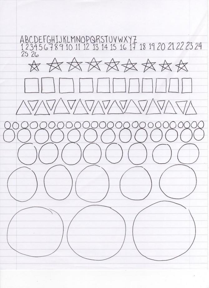 Wie zeichnet 1