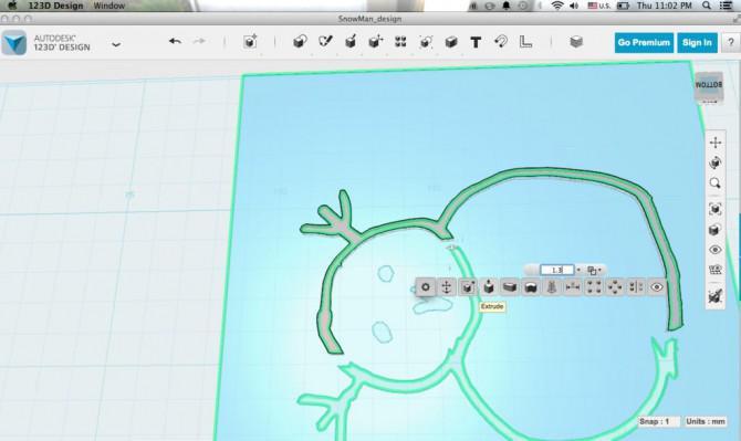Autodesk 123D Design- erstellen Anpassbare Lamp / Stifthalter
