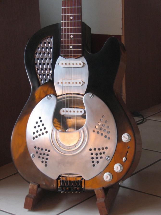 Bauen Sie Ihr Eigenes Gitarren