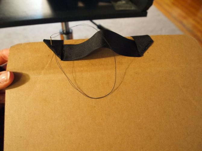 Karton Tablette-Kasten mit Handgriff