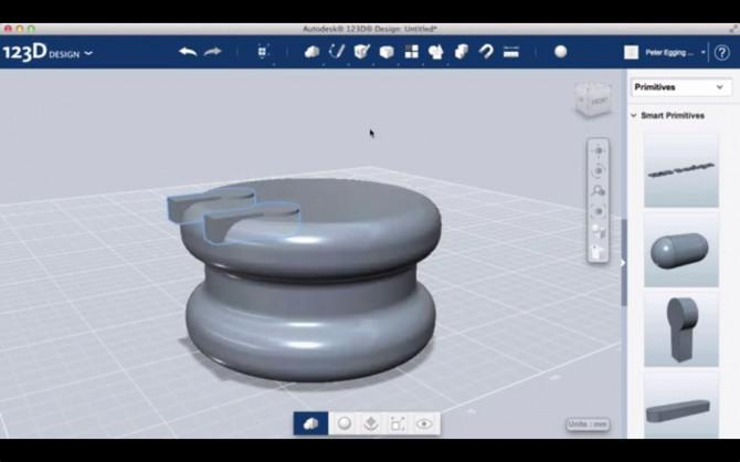 Entwerfen Sie einen Ear Bud Halter mit Autodesk 123D Entwurf
