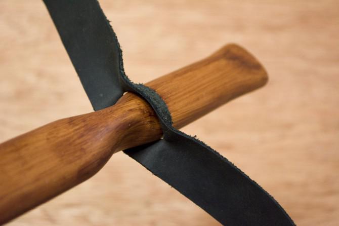 Wie man ein Basket Stil PVC Atlatl und Dart Stellen
