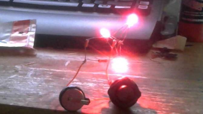 3D gedruckt LED Portal Companion Cube