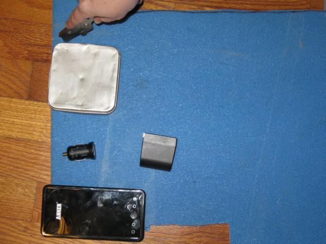 Zwei-Schicht Buchfeld, um einen Tablet-PC zu halten