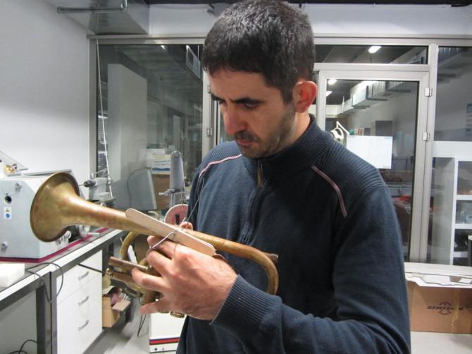 Giving ein neues Leben in einem alten Cornet / Trumpet