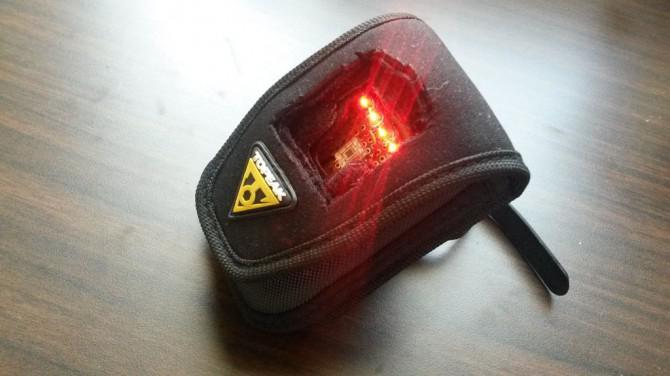 Automatische Erkennung Schatten Bike Rücklicht