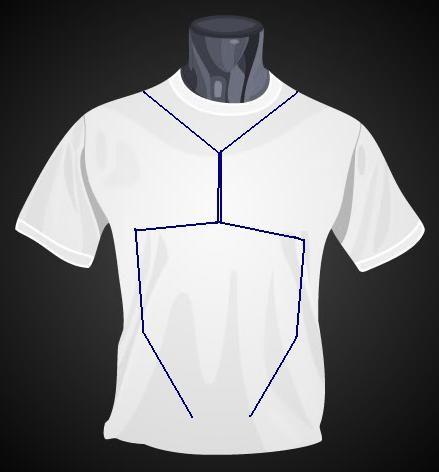 Versteckte Tron-Shirt mit einer SR Latch gesteuert