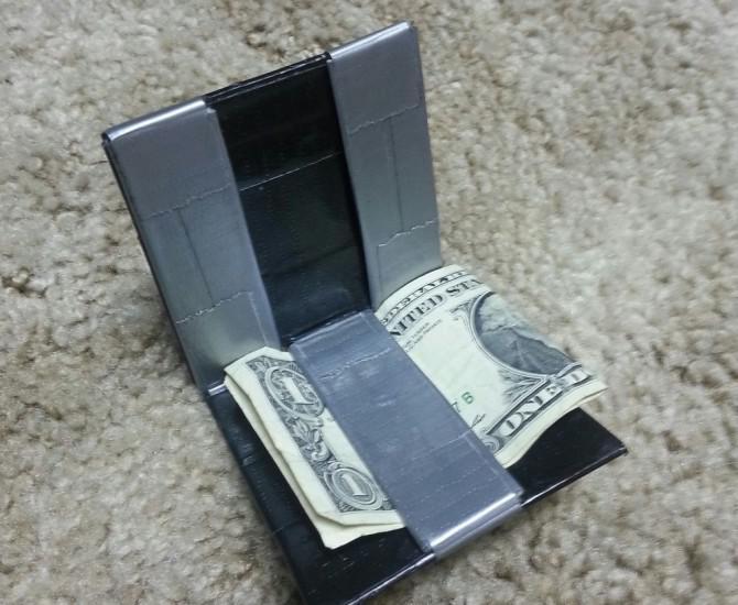 Kühle magische Duct Tape Wallet