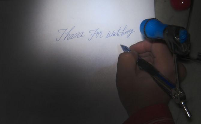 Pen mit Licht