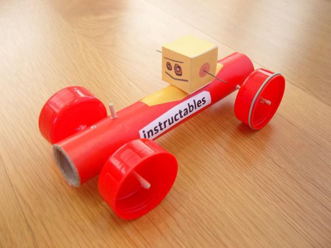 Klutz Rubber Band-Powered-Wettbewerb-Sieger