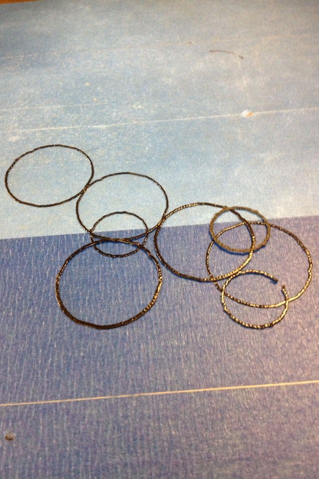 6 Individuelle Rings Kleine Auflagen in 40 Minuten abgeschlossen
