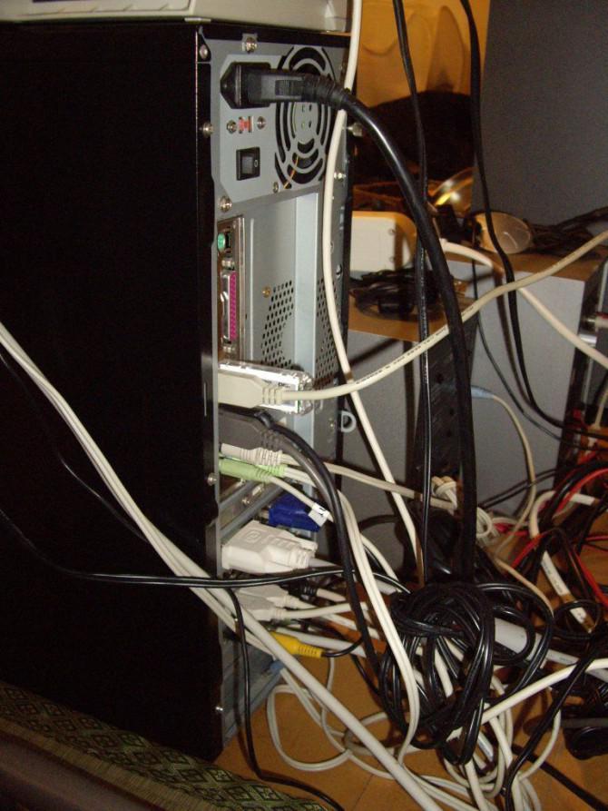 Computer Netzteil Lüfter Ersatz