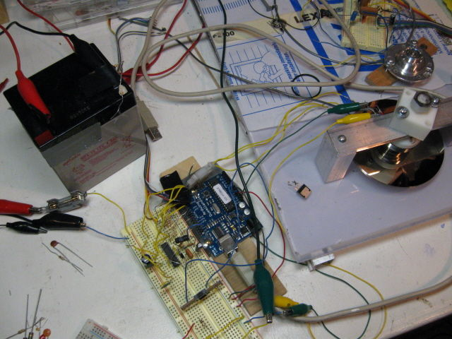 BLDC Motor Control mit Arduino, geborgen HD Motor und Hall-Sensoren