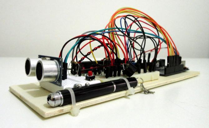 Ultraschall Entfernungsmessung Formel : Ultraschall entfernungsmesser mit lcd anzeige auf arduino uno