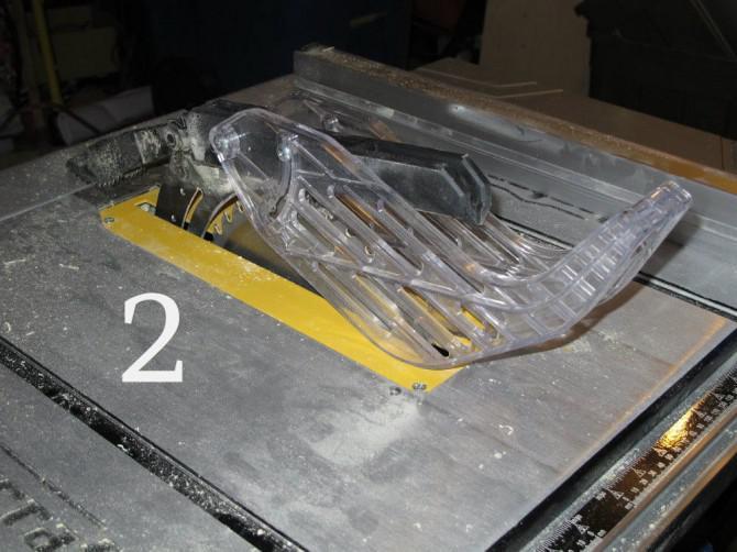 Leuchten Tardis Nachttisch mit Lampe in gebaut