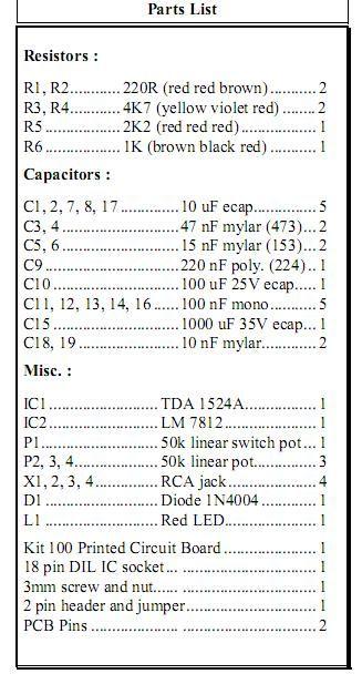 32W Stereo-Audioverstärker