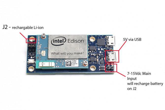 Gewusst wie: Power (mit Intel Edison)
