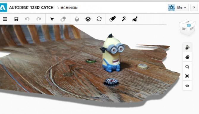 Erstellen Sie ein 3D-Minion Pumpkin ab Fotos Mit 123DCatch
