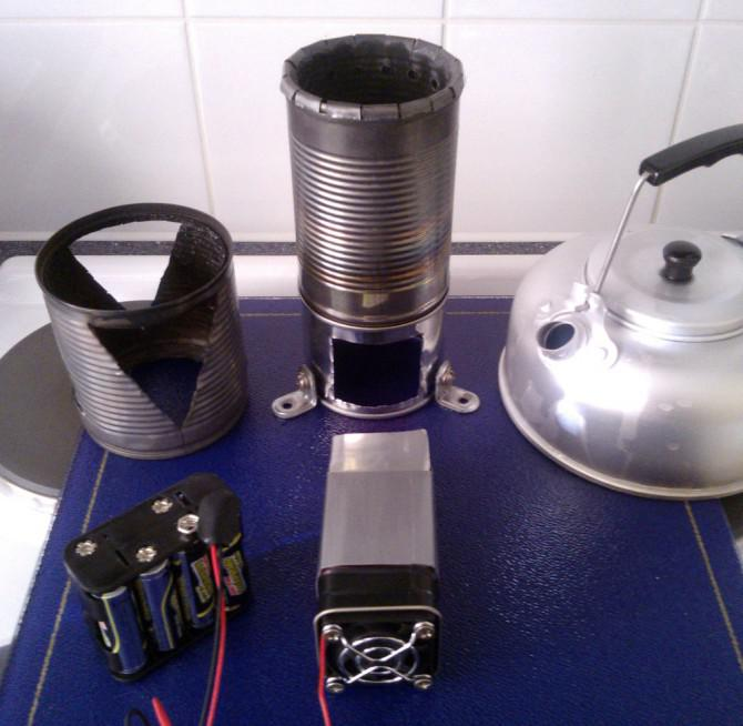 3ModeStove Mini - Campingplatz / Not-Herd