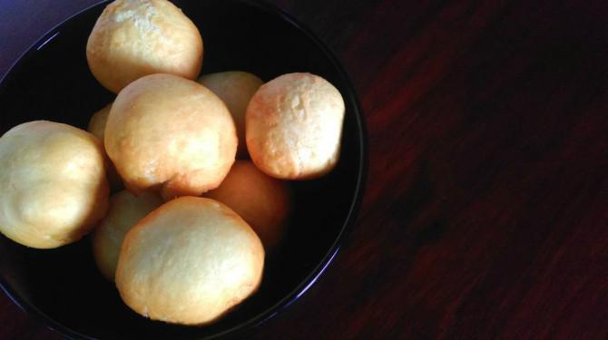 Speck und Käse Bälle