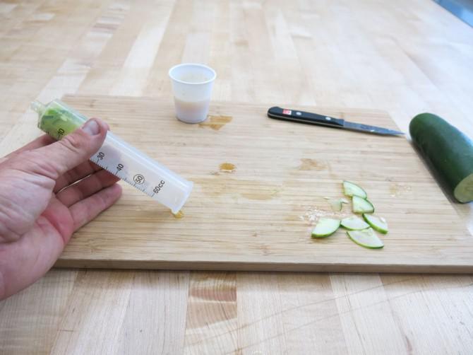 Instant Pickles!  (30 zweite Vakuum Gurken!)