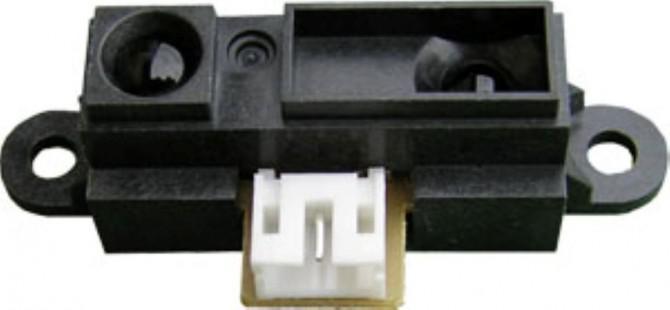 Hausgemachte Infrarot-Entfernungsmesser (Ähnlich wie bei Sharp GP2D120