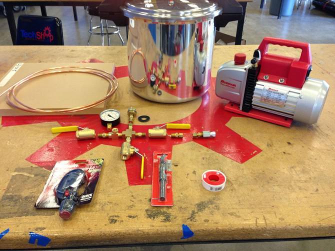 Pressure Cooker Vakuumkammer