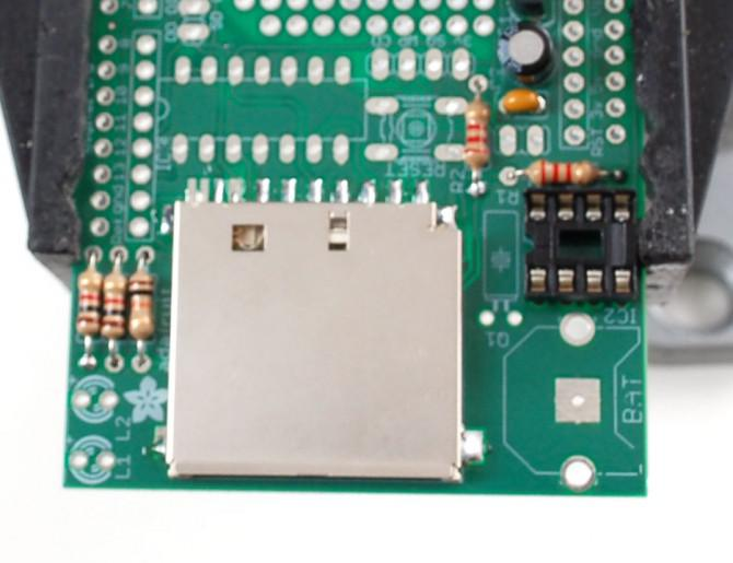 Logger-Schild: Messwerterfassung für Arduino