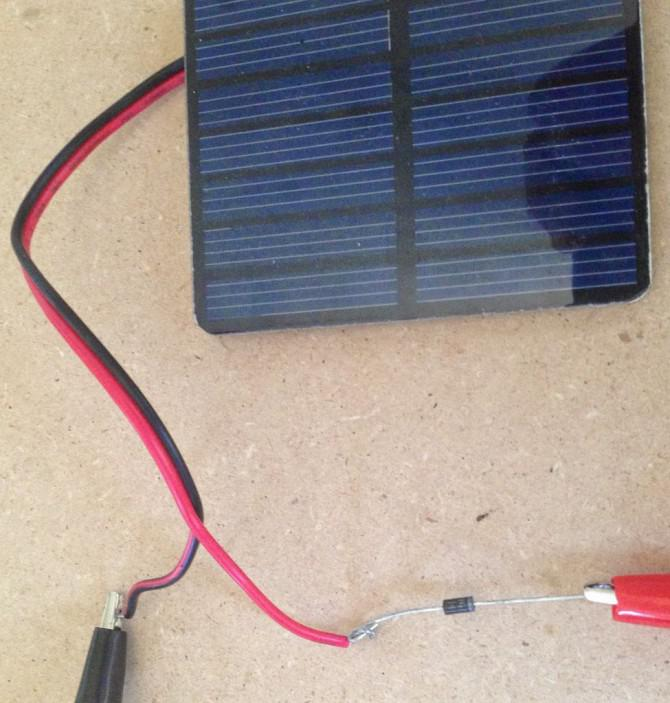 Portable Solar-USB-Ladegerät