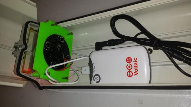 Blinde Überwachungskamera mit Spark.io
