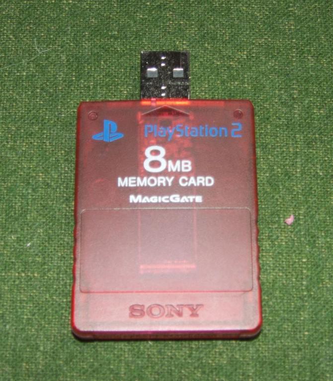Ändern Old PS2 / PS1 Speicher auf einem USB Thumbstick
