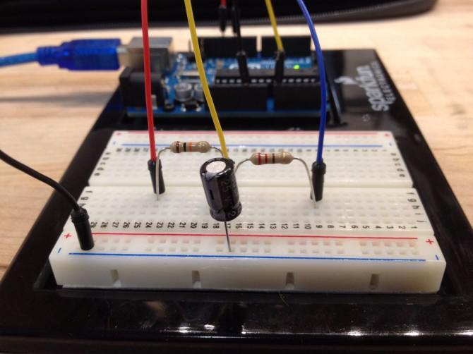 Messen Kapazität mit Arduino