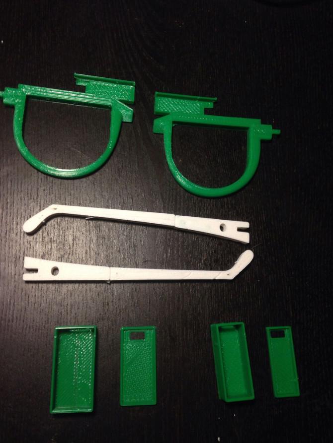 Gläser mit Kurvenlicht und einem Dual-Party-Modus